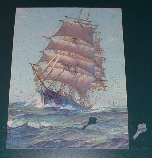 Keystone Puzzles 37 Hand Cut Wooden Jigsaw Puzzle